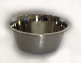 Plaster Hand Bowl, Stainless Steel