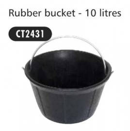 Rubber Bucket 10ltr